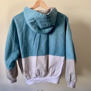 Zaful Jackets & Coats - Hooded Corduroy Jacket